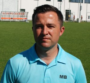 Trener Marcin Borsuk