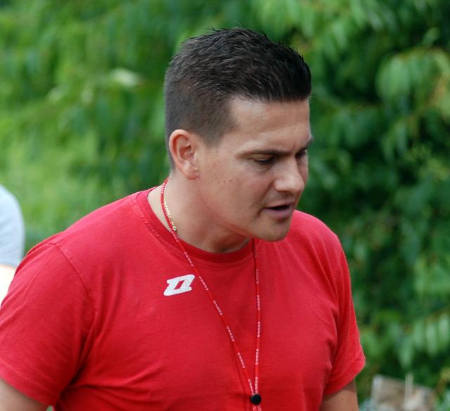 Trener Rafał Ślubowski