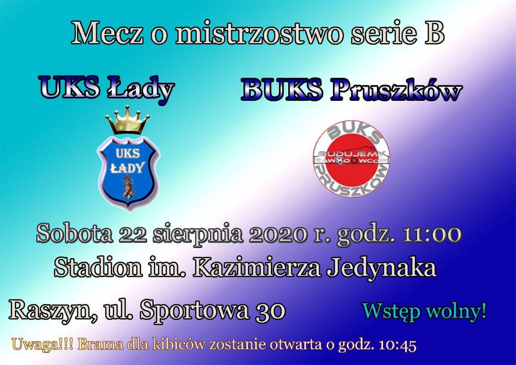 UKS Łady - BUKS Pruszkow