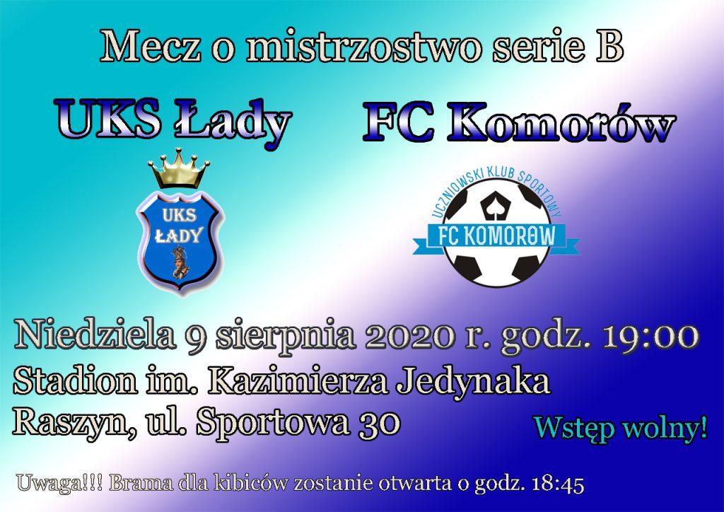 UKS Łady - FC Komorów